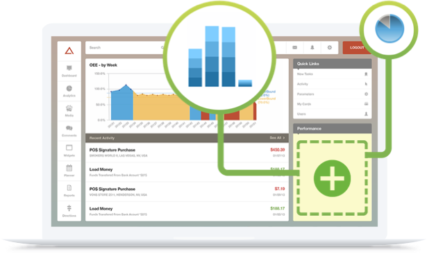 Qlik embedded analytics brings robust analytics into your products. Tableau only brings dashboards.
