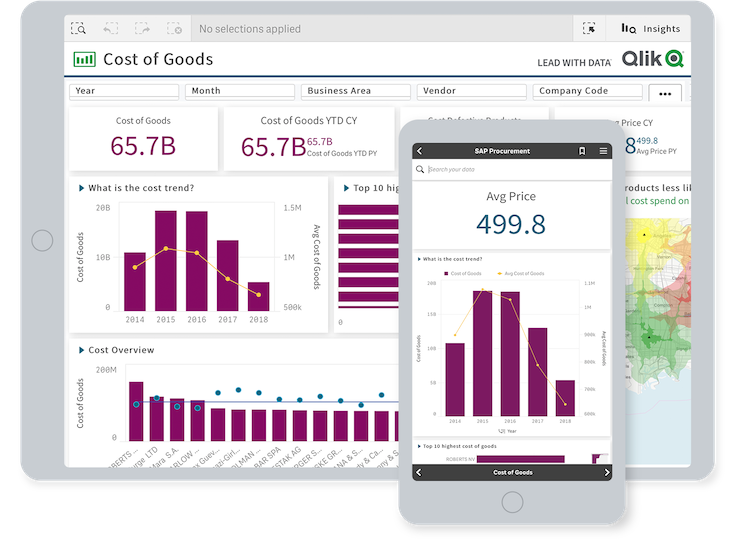 Mobile business intelligence lets users create and explore analytics and collaborate using any device.