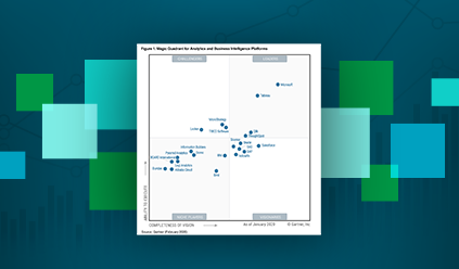 Gartner Magic Quadrant 2019 pour les plateformes d'Analyse et de Business Intelligence