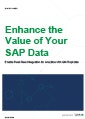 Enhance the Value of SAP Data with Real- Time Integration for Analytics